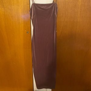 long dress, never worn tag came off